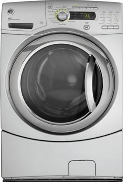 Ge General Electric Gfwh2405lms Front Load Washer With 4 1