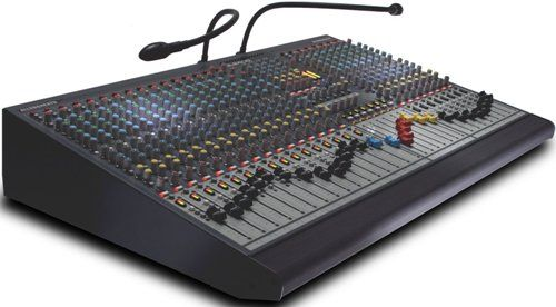Allen & Heath GL2400-440 Dual-Function Live Sound Mixer, 40 channel frames, LR and M main outputs, 4 Audio groups with pan control, 6 Auxiliary sends with per-channel pre/post fader switching, 2 stereo channels, each with mic and dual stereo line inputs, 7x4 Matrix, Proper dual functionality for FoH and/or Monitor mixing (GL2400440 GL2400 440 GL-2400440 GL 2400-440 GL2400-40)