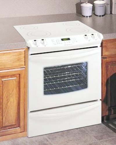 "Frigidaire GLES389FS Slide-in 30"" Electric Range, White, 4 ..."