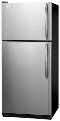Ft. Top Freezer Refrigerator Stainless Steel Reverse Door UltraSoft Doors and Handles 1 Fixed White Door Bin 2 Humidity Controls 3 SpillSafe Glass ... & Frigidaire GLHT214TJK Standard Depth 20.5 Cu. Ft. Top Freezer ...