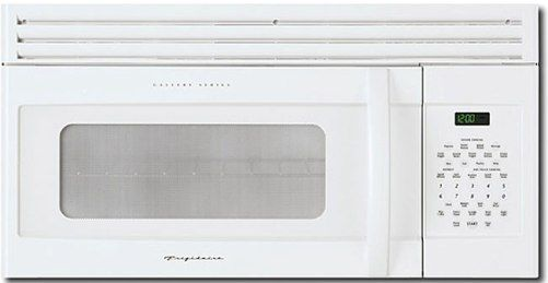 Frigidaire Glmv169hs Over The Range 1 6 Cu Ft Built In Microwave Oven White 1000 Cooking Watts Eleven Variable Levels Memory Cook Recalls