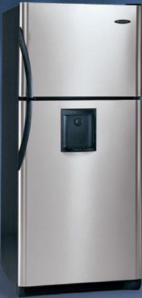 Frigidaire GLRT218WDK Top Freezer Refrigerator, 20.6 Cu. Ft., Water ...