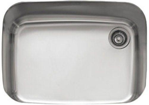 Franke Gnx11028 Europro Series Single Bowl Undermount Kitchen Sink Stainless Steel 18 Gauge