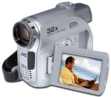 jvc gr d350us minidv camcorder with 32x optical zoom  1  6 inch 680 000 pixel ccd  32x optical jvc camcorder manual gz hm30su jvc camcorder manual gr-sxm330u