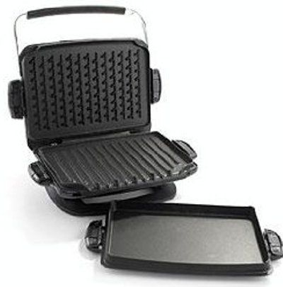 George foreman grp93g the next grilleration g3 grill with removable plates black upc - Health grill with removable plates ...
