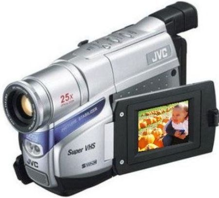 jvc gr sxm38 super vhs camcorder with 25x optical zoom 1000x rh salestores com JVC Digital Video Camera Accessories JVC Mini Digital Video Camera