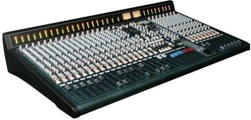 Allen heath gs r24m studio recording mixer with for Firewire mixer motorized faders