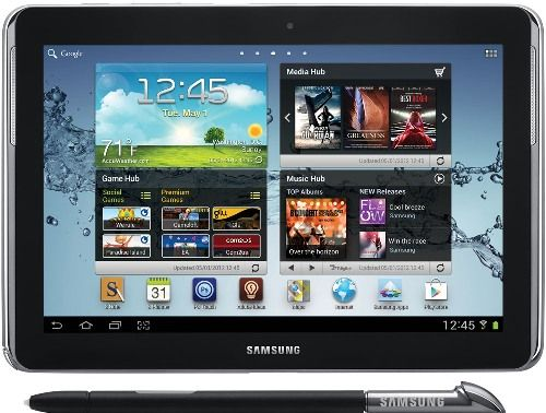 Samsung GT-N8013-EA16ARB Refurbished Galaxy Note 10.1 WiFi 16GB Tablet, Deep Gray, Android 4.0 Ice Cream Sandwich Operation System, 1.40 GHz Quad-Core Processor, WXGA 1280 x 800 Display Resolution, 5.0 MP Rear Camera, 1.9 MP Front Camera, Built-in Front Dual Speakers, Bluetooth 4.0, UPC 813774018139 (GTN8013EA16ARB GTN8013-EA16ARB GT-N8013EA16ARB GT-N8013 EA16ARB)