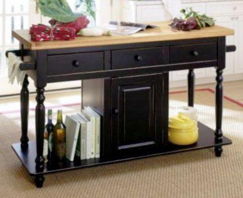 Homecraft hcmi159 eb kitchen island cabinet model beaumont isle ebony