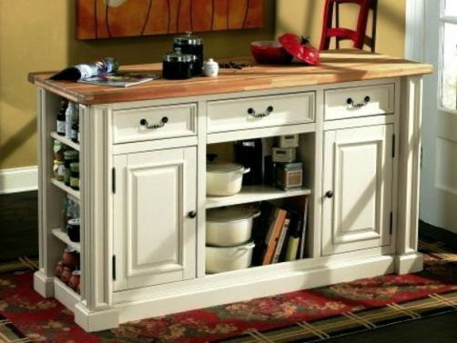Homecraft HCMK029 Kitchen Island Cabinet Model Hampshire Isle Solid