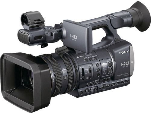 Sony HDR-AX2000 High-Definition Handycam Camcorder, 3x 1/3