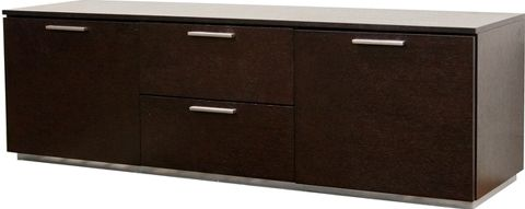 Wholesale Interiors HE1190-M Maumell Wenge Wood Media Cabinet ...