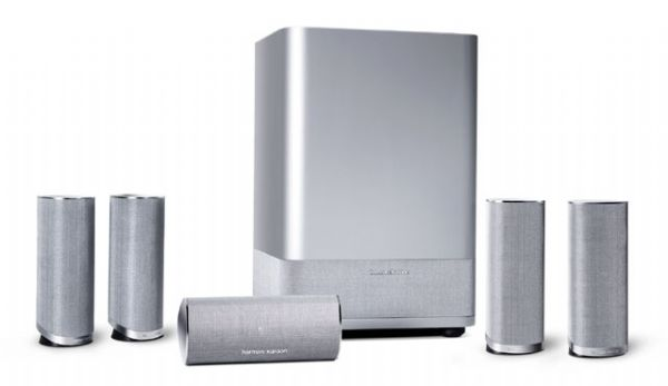 harman kardon home theatre. harman kardon hkts14 home theater speaker system, four 2-way satellites, magnetic shielding on satellites \u0026 center theatre /