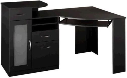 Bush Hm66915 03 Vantage Collection Corner Desk Black