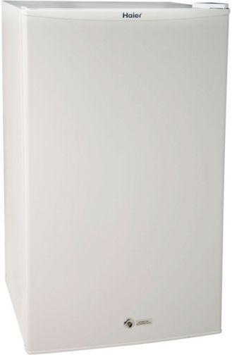 haier hmse03waww freestanding 3 3 cu ft refrigerator freezer white