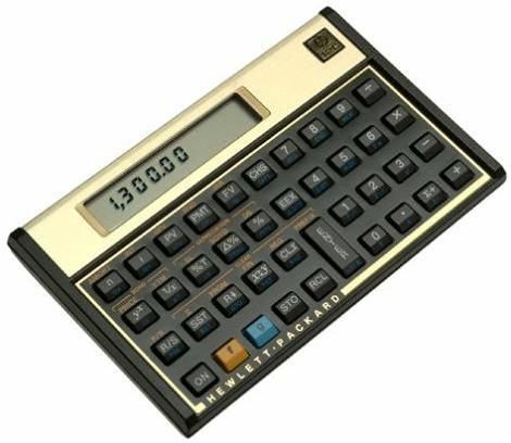 200V Financial Calculator (Updated four