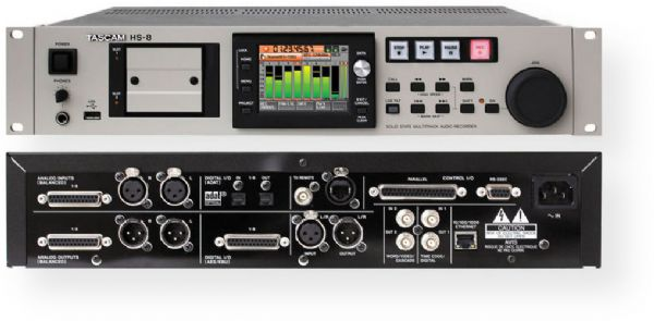 Tascam HS-8 8-Channel Solid-State Audio Recorder, 8-channel