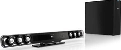 Philips HSB3280/F7 Micro Hi-Fi Soundbar System, Stereo Sound