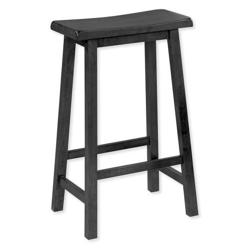 Magnificent Monarch Specialties I 1531 Distressed Black 24 Saddle Seat Squirreltailoven Fun Painted Chair Ideas Images Squirreltailovenorg