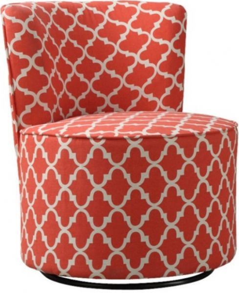 Fine Monarch Specialties I 8132 Coral Lantern Fabric Accent Evergreenethics Interior Chair Design Evergreenethicsorg