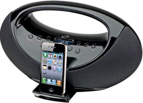 iLive IBP301B Personal radio with Apple Dock cradle, Stereo