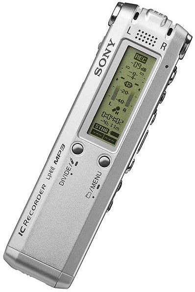 Sony ICD-SX57DR9 Digital Voice Recorder, USB battery charger