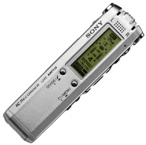 Sony ICD-SX68DR9 Digital Voice Recorder, 512MB Built-in Flash Memory, PC Compatible via USB (Cable Included), 5 Recording Modes STHQ/ST/STLP/SP/LP, MP3 File Conversion and Playback, USB Docking Station (Included), Voice Operated Recording (VOR), Alternative to ICD-SX57DR9 ICDSX57DR9 (ICDSX68DR9 ICD SX68DR9 ICD-SX68DR ICD-SX68D ICD-SX68)