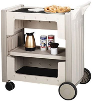 Iceberg Enterprises 45093 SnapEase Service/Transportation Cart, Platinum,  Compact Service On Wheels,