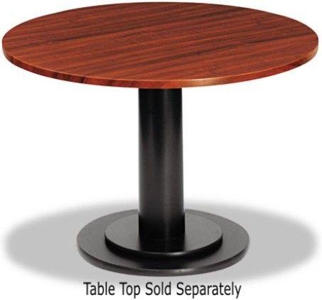 Iceberg enterprises 69135 officeworks single column round for Cuir center table basse