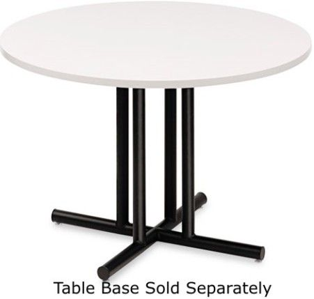 Iceberg Enterprises OfficeWorks Round Conference Table Top - 48 inch round conference table
