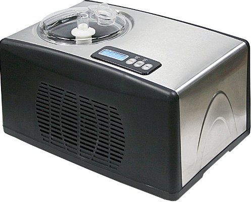 Whynter�ICM-15LS Stainless Steel Ice Cream Maker, 1.6 Qt. maximum capacity, 150 watts, Removable bowl for easy storage and effortless cleaning, LCD timer control and temperature display, Reliable built-in audible timer, Cooling temperature -0.4 F to -31 F, Easy to operate one touch control panel, Portable freestanding design, Sleek stainless steel design complements to most kitchen appliances, UPC 850956003019 (ICM-15LS ICM 15LS ICM15LS)