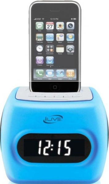 ilive icp360 color changing 30 pin ipod iphone speaker dock dual rh salestores com Ilive Wireless Speaker System Ilive Portable Docking System