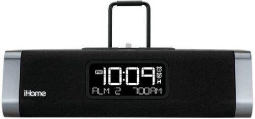 how to set ihome alarm playlist