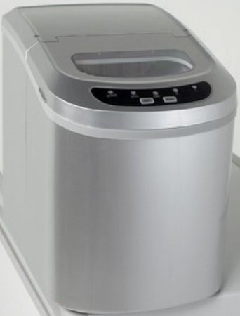 Countertop Ice Maker For Sale : Avanti IM12IS Portable Countertop Ice-Maker, Platinum Finish, Easy to ...