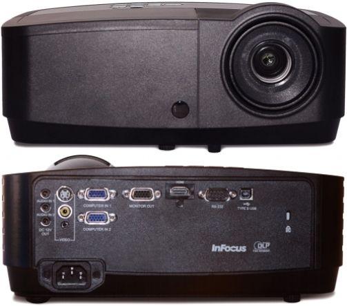 DLP, XGA 1024 x 768, 3000 Lumens, 15000:1 InFocus IN114X Projector