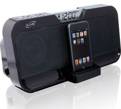 DPI IS208B ILive Stereo Speaker With Dock For IPod