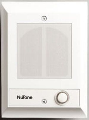 Nutone Is69wh Recessed Door Station Cast Metal Door