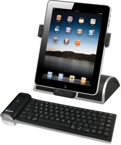 hamiltonbuhl isd kb ipad speaker dock and bluetooth keyboard accessory kit speaker dock allows. Black Bedroom Furniture Sets. Home Design Ideas