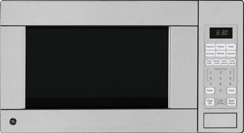 Ge Jes1142spss Countertop Microwave Oven 1 1 Cu Ft