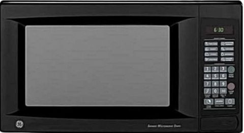 Ge General Electric Jes1460dnbb Microwave Oven With Instant On Controls 1 4 Cu Ft Cavity 1150 Watts 6 Min Express Cook I And Ii Time
