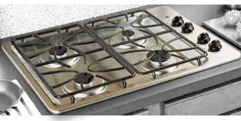 GE General Electric JGP330SEKSS Gas Cooktop With 4 Sealed Burners 30 Size 1 At 110 150 Degree Simmer 2 95