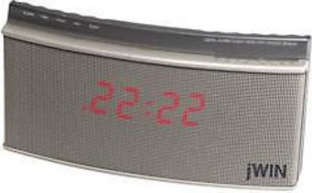 jwin jl 626 toch sensor snooze alarm clock analog tuner led display radio only jl626 jl 626. Black Bedroom Furniture Sets. Home Design Ideas