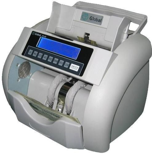 RB Tech JM-80 Bank Quality Currency Counter, Large blue backlight LCD screen, Automatic start/manual counting, Auto/manual adding, Alternative to BC-900 BC-900B BC900 BC900B (JM80 JM 80 GLOBAL)