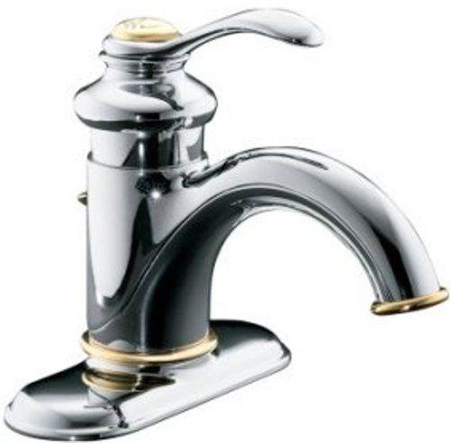 Kohler Fairfax Faucet : Kohler K-12181-CB Model K-12181 Fairfax Single-control Lavatory Faucet ...