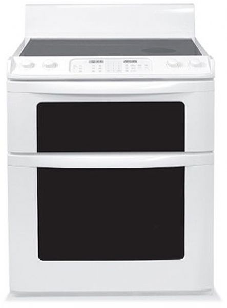 Sharp Kb 3411jw Insight 30 Freestanding Electric Range W Microwave Drawer True European Convection Cooking System In White Automatic Opening