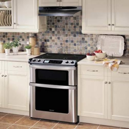 Sharp Kb 4425ls Insight Pro Electric Range Stainless