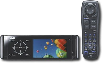 JVC KD-AVX44 DVD player with LCD Monitor, WAV, WMA, AAC, MP3 Supported Digital Audio Standards, JPEG photo playback, USB flash drive playback, DivX playback, Radio tuner - AM/FM, 24 Total Preset Station Qty, 6 AM Preset Station Qty, 18 FM Preset Station Qty, 8 Equalizer User Preset Qty, FM stereo/mono switch, best stations memory, DVD player, 24 Total Preset Station Qty, 6 AM Preset Station Qty, 18 FM Preset Station Qty, 7 bands Equalizer Band Qty (KD AVX44 KDAVX44)