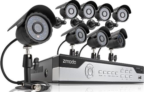 Zmodo KIL8-MARQZ8ZN-1T Eight-Channel 960H H 264 Real-Time