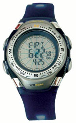 Konus 4408 TREKMAN-8 Sport watch, Digital multifunction watch; 12/24 hours watch; Electronic compass 360°; 3 daily alarms; Hourly chime; Chronograph; Count down timer (KONUS4408 KONUS-4408 TREKMAN-8 TREKMAN)