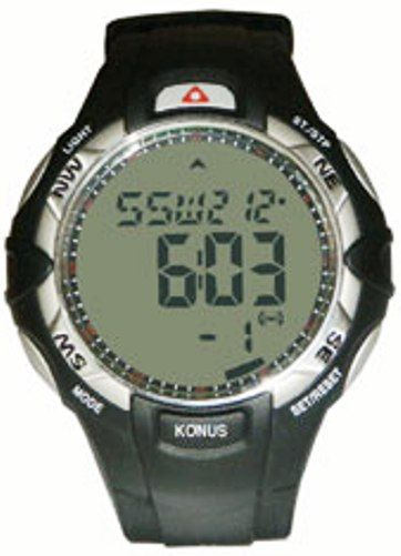 Konus 4418 TREKMAN-V Watch with Crónometro & count down and cronógrafo, alarms, compass and digital compass (KONUS4418 KONUS-4418 TREKMANV TREKMAN)